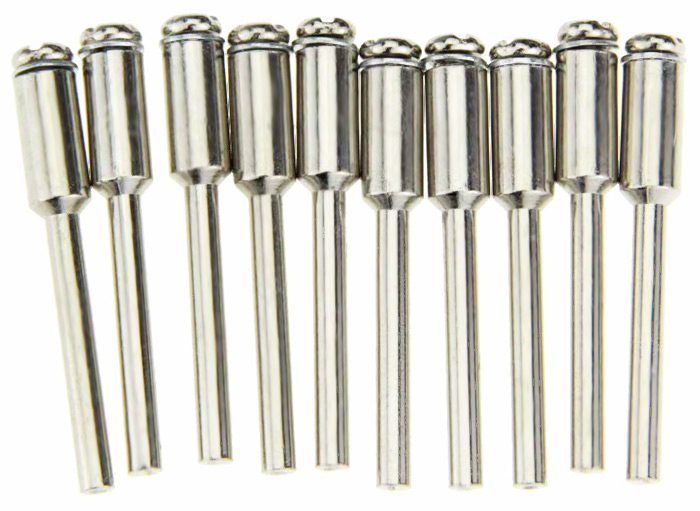 10PCS Diamond Fixed Mandrel Power Tool Accessory