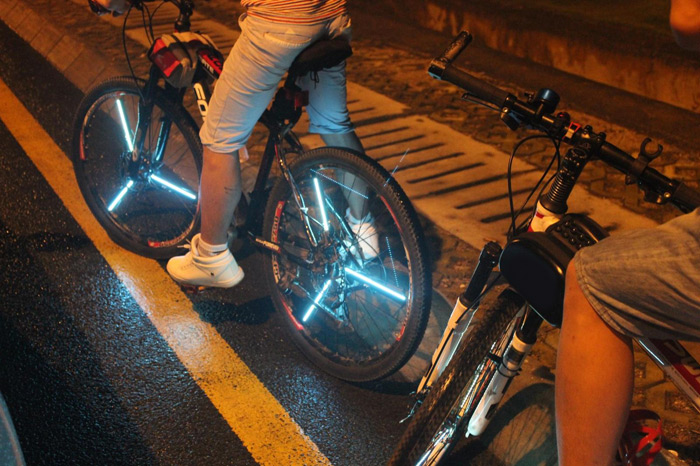 Yueqi YQ8008 216pcs LED DIY Programmable Bicycle Spoke Light
