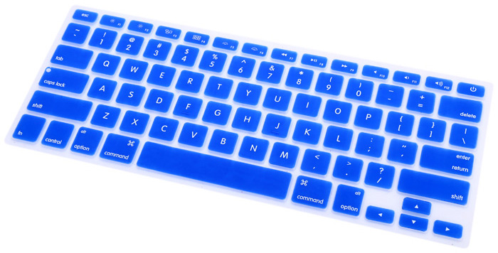 Maikou Silicone Keyboard Cover Water Resistant Protector for 13 / 15 / 17 inch MacBook