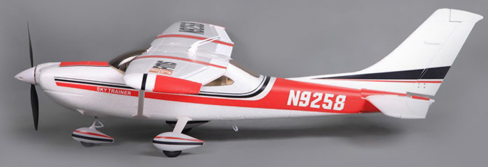 FMS Cessna 182 RC Airplane Model RTF Version 2.4G 4 Channe Fixed-wing Aeroplane