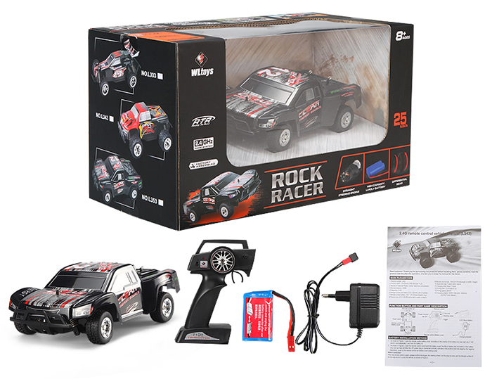WLtoys L353 1 : 24 Full Scale 2.4GHz RC Short Truck Off-road Car