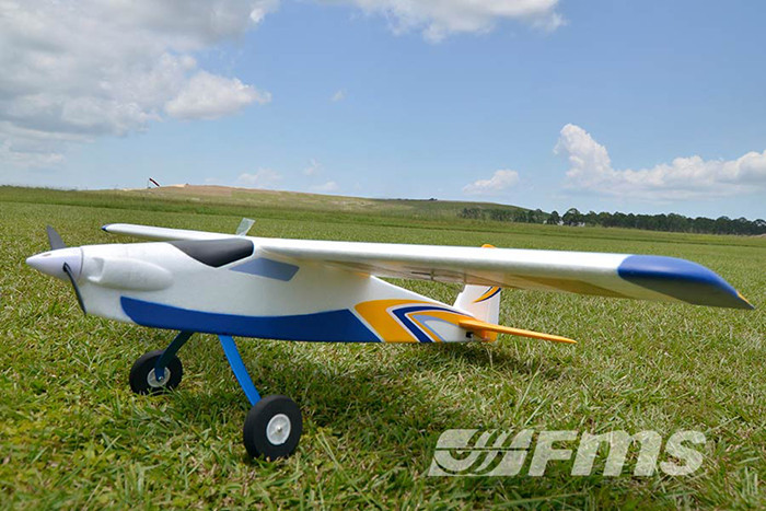 FMS 1220MM Super EZ RC Airplane Glider 2.4G 4 Channel Fixed-wing Aeroplane RTF Version