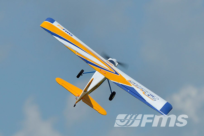 FMS 1220MM Super EZ RC Airplane Glider 2.4G 4 Channel Fixed-wing Aeroplane PNP Version
