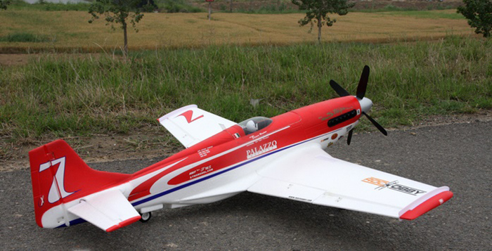 FMS 1070MM P - 51 RC Airplane Model PNP Version without ESC Fixed-wing Aeroplane