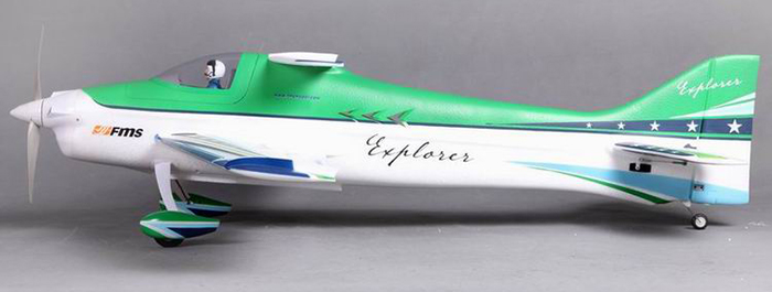 FMS 1020MM F3A Glider Model PNP Version without ESC RC Aeroplane Toy Gift for Flying Lover