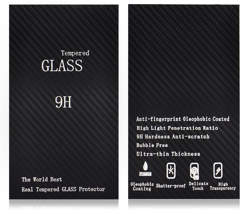 Angibabe 0.2mm Thickness Tempered Glass Screen Film for iPhone 6 / 6S Frosted Full Screen