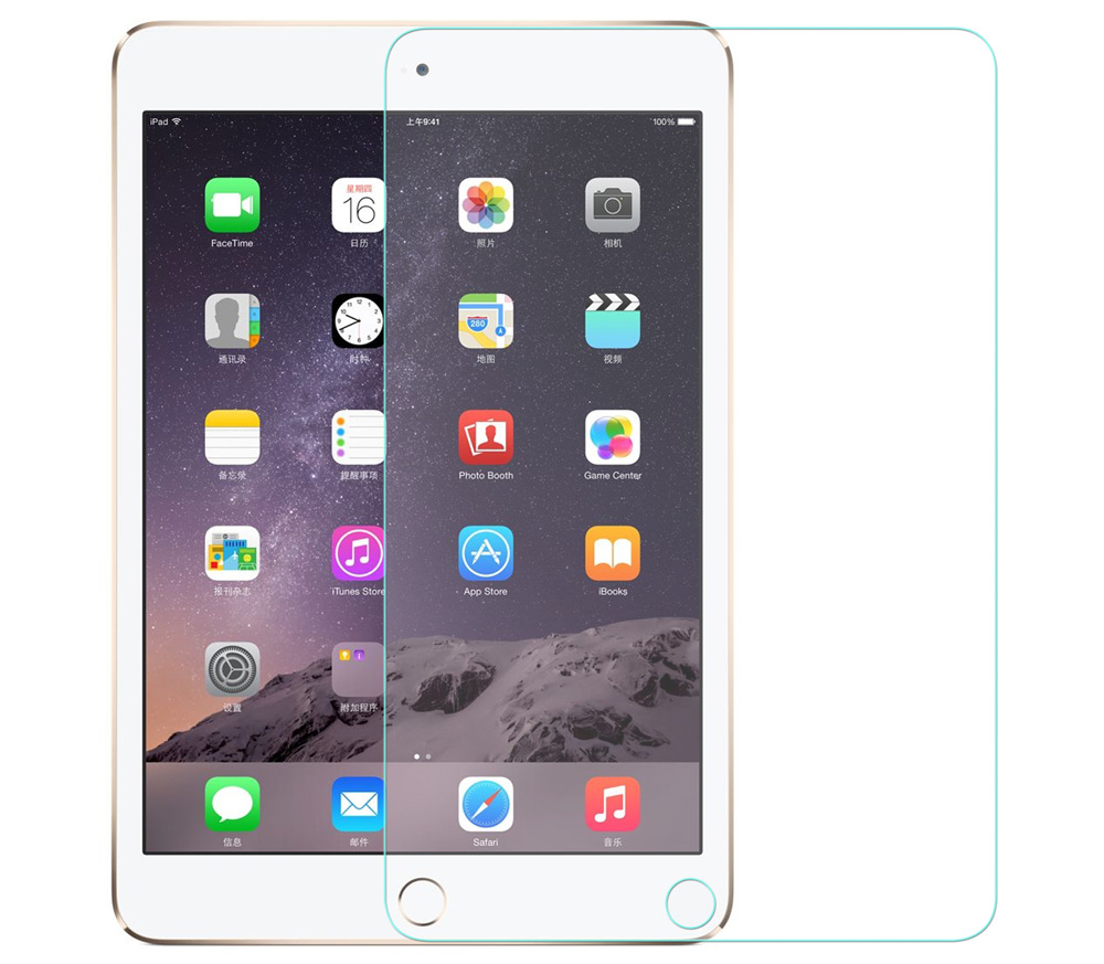 Angibabe 0.3mm 2.5D Tempered Glass Screen Protector for iPad Pro