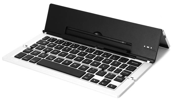 F18 Universal Foldable Bluetooth 3.0 Keyboard with Indicator