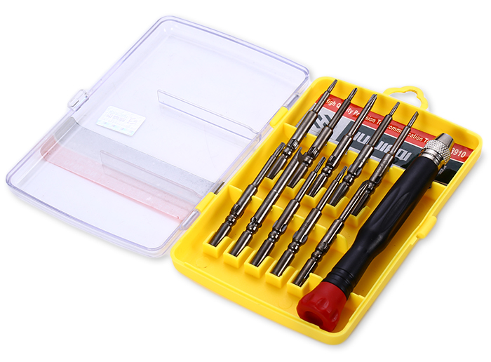 HUIJIAQI NO.8910 11 in 1 Precision Screwdriver Set Repairing Tool