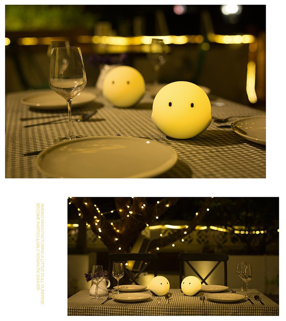 EMIE Elfy Touch Sensitive Rechargeable LED Night Mood Light