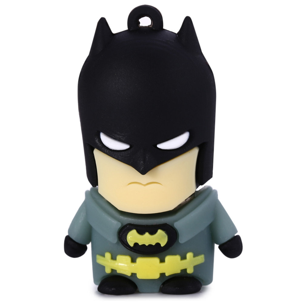 8GB Yellow Belt Batman USB 2.0 Flash Disk Dust-proof