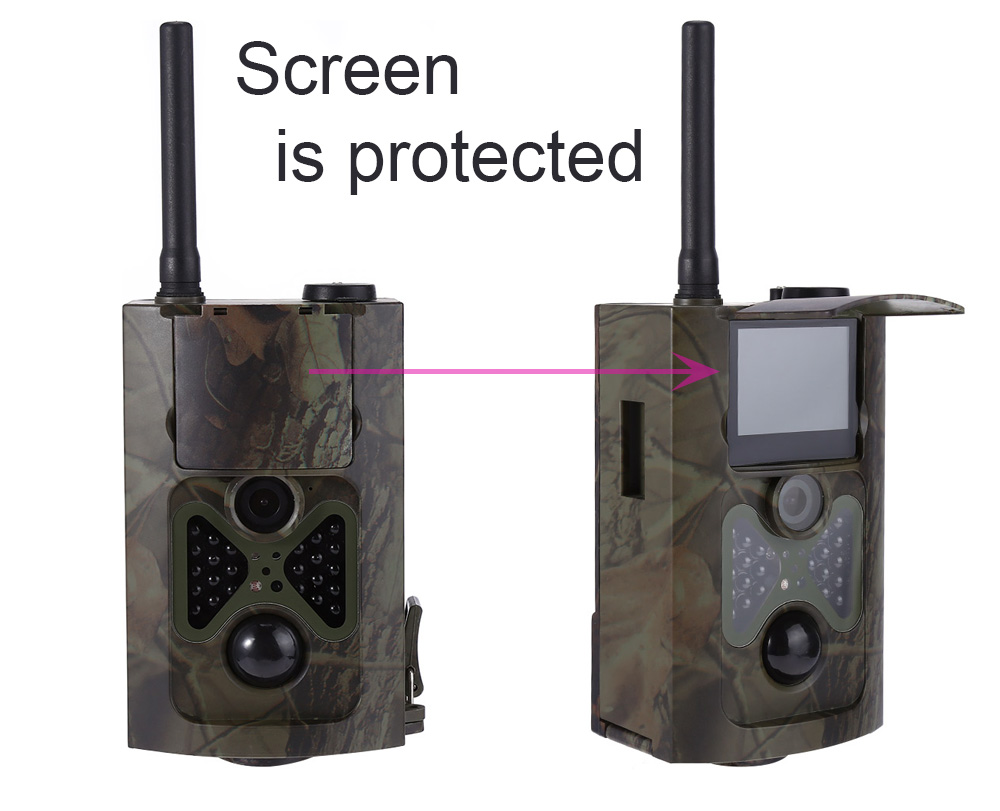 HC - 550G Infrared Digital Trail  Scouting Hunting Camera with 12 MP 1080p HD Video 3G MMS GPRS