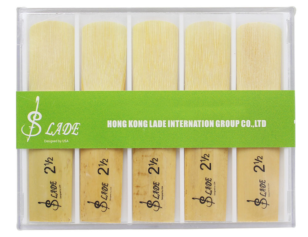 LADE Strength 2.5 Reed Accessory for Alto bE Saxophone - 10Pcs