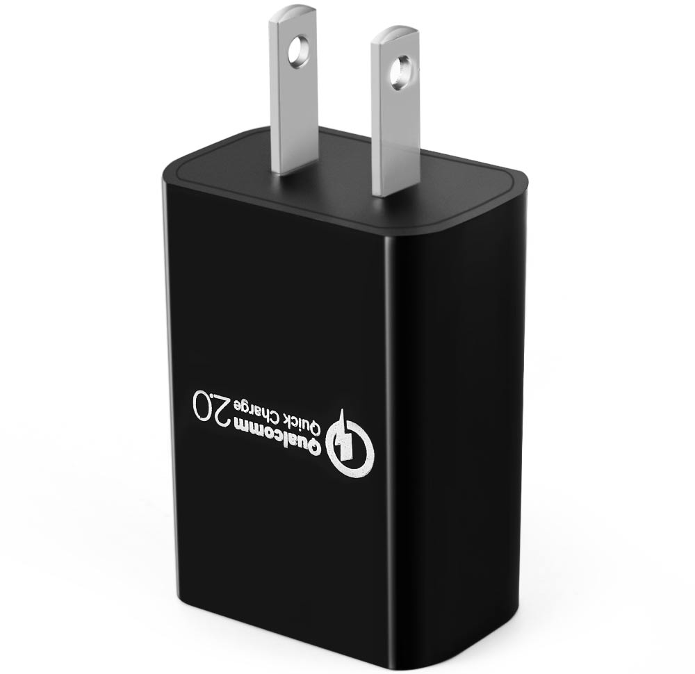 Quick Charge 2.0 USB Wall Fast Charger Adapter for Travel Home US Plug