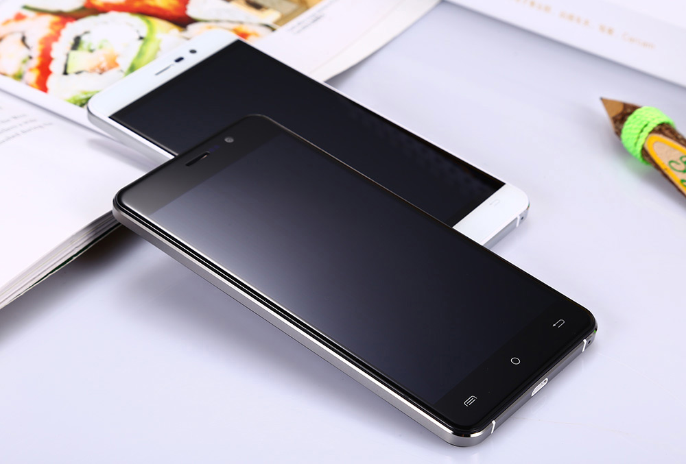Cubot Z100 5.0 inch 4G Smartphone Android 5.1 MTK6735 64bit Quad Core 1.0GHz 1GB RAM 16GB RAM 2.5D HD Screen Hotknot Dual Cameras OTG GPS