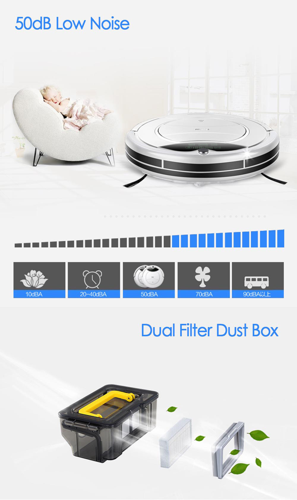 Original Haier SWR Pathfinder Vacuum Cleaner Robot Remote Control Self Charging Cleaning Machine