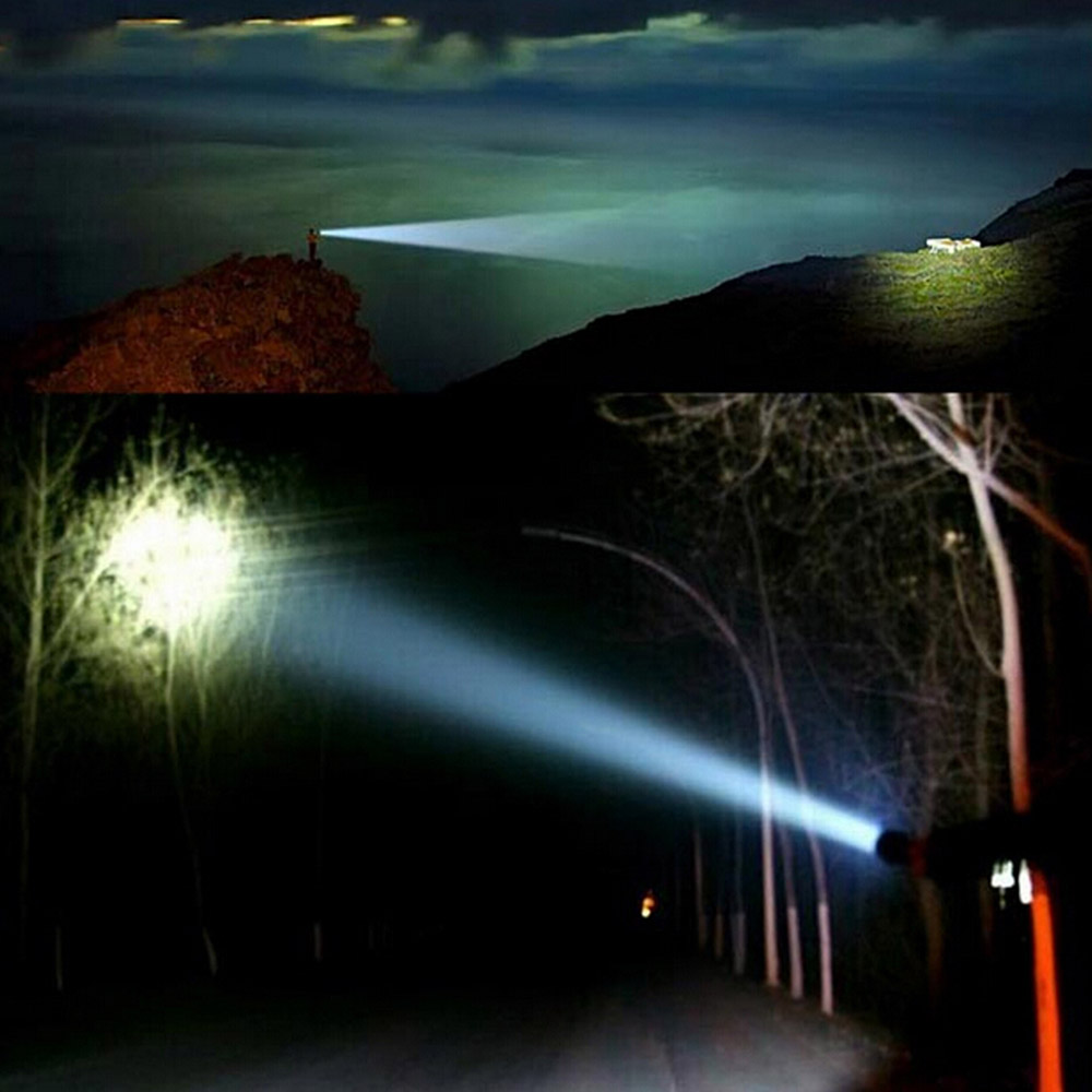 FandyFire XPH - 50 Cree XHP50 3000Lm Outdoor LED Flashlight + Battery + Charger