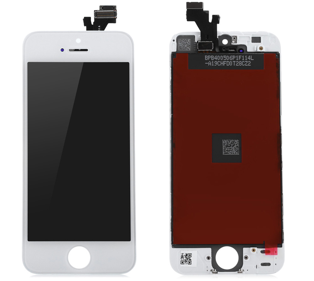 Practical LCD for iPhone 5 LCD Screen Display with Touch Screen Flex Cable Supporting Frame Digitizer Assembly