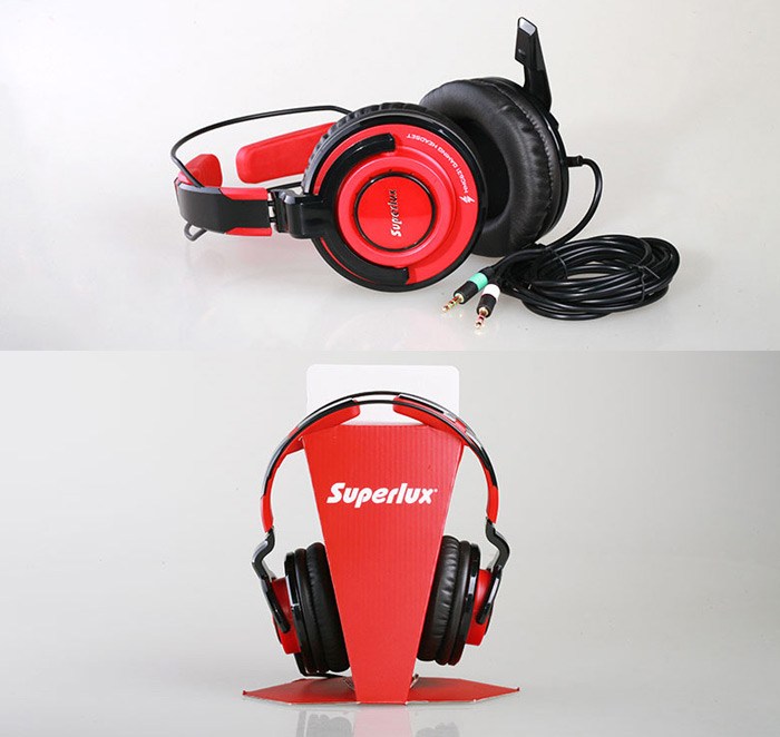 Superlux HMC-631 Professional-grade PC Gaming Headset with Microphone Volume Control Support Hands-free Calls