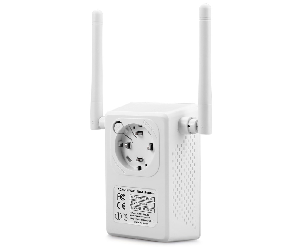 LV-AC02 750M 2.4GHz / 5GHz Wireless Router / AP / Repeater
