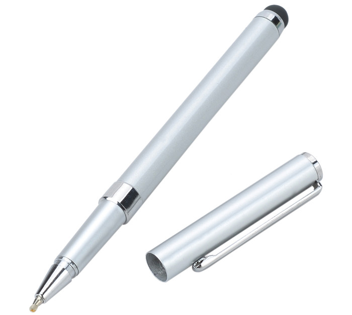 MK7023 2 in 1 Capacitive Stylus / Touch Pen with Ballpoint