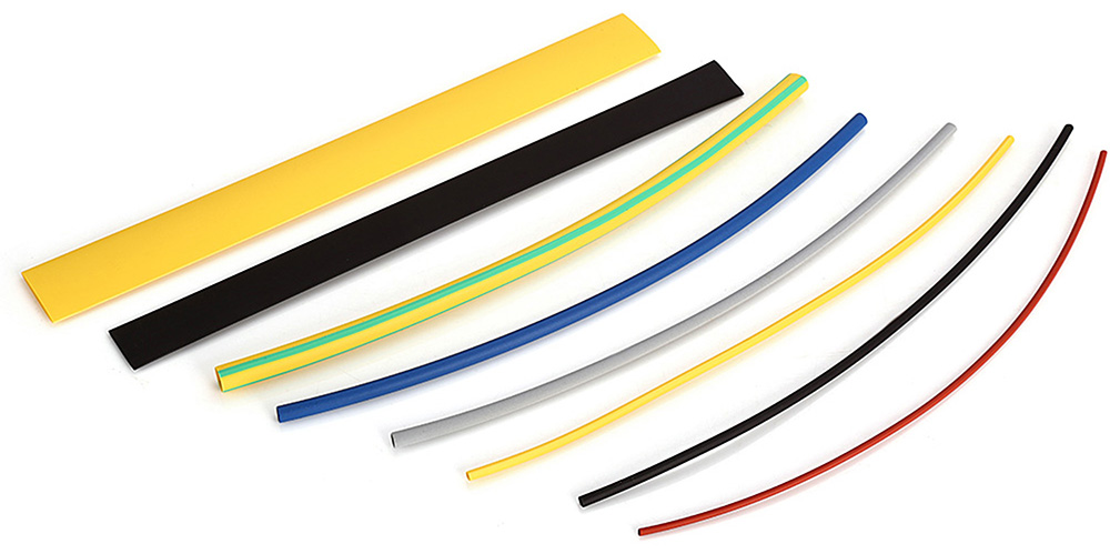 64PCS Woer 8 Color 8 Size Polyolefin Heat Shrink Tubing Tube Kit
