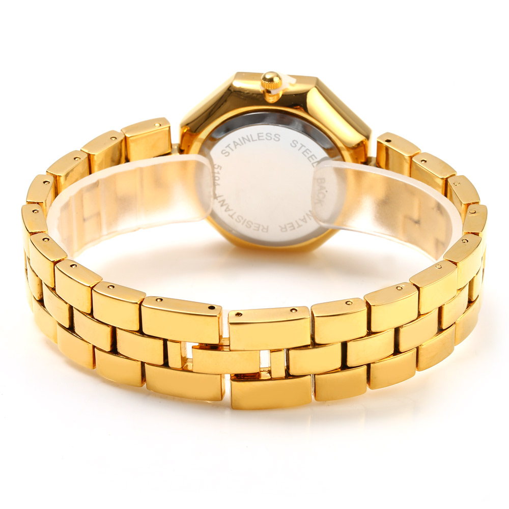 Kingsky 5194 Women Quartz Watch with Stainless Steel Band
