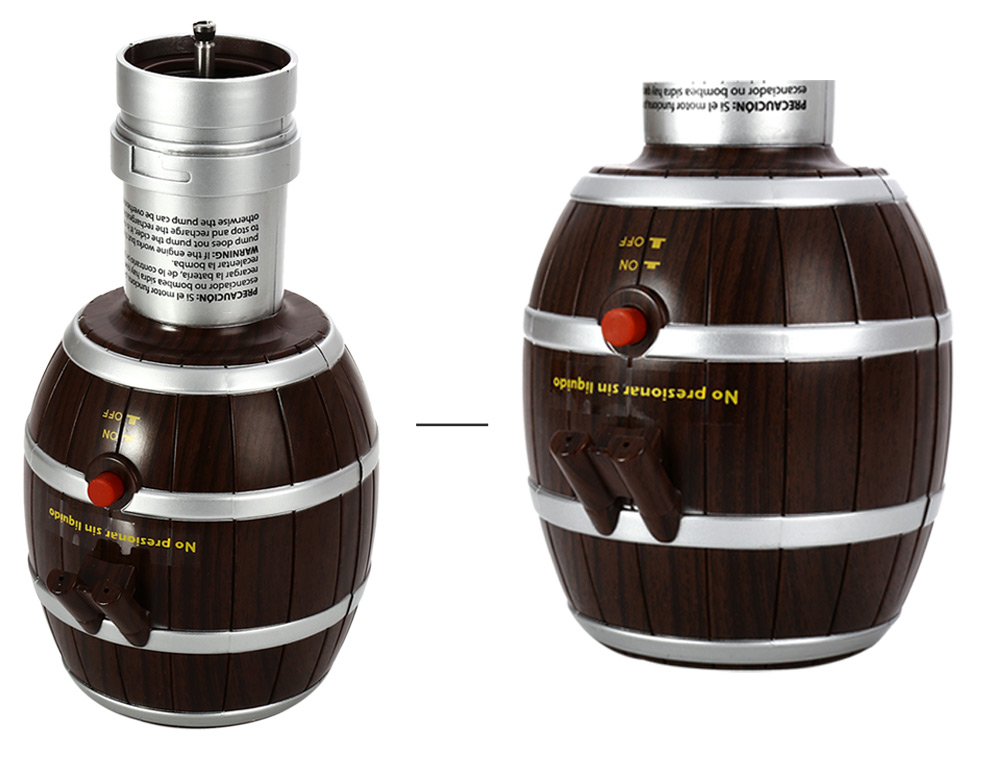 TOKUYI TO - AP1009 Electric Wine Decanter Barrel Design Pump