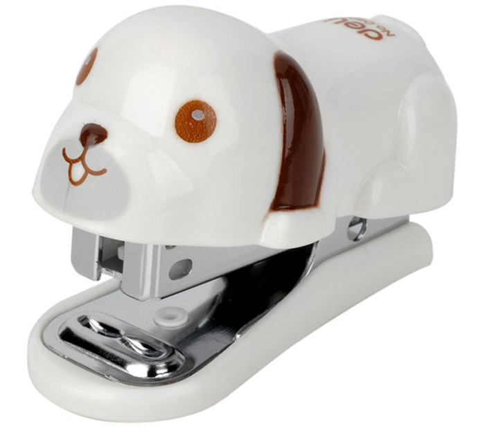 Deli 0455 Cute Dog Style Stapler Connection Tool