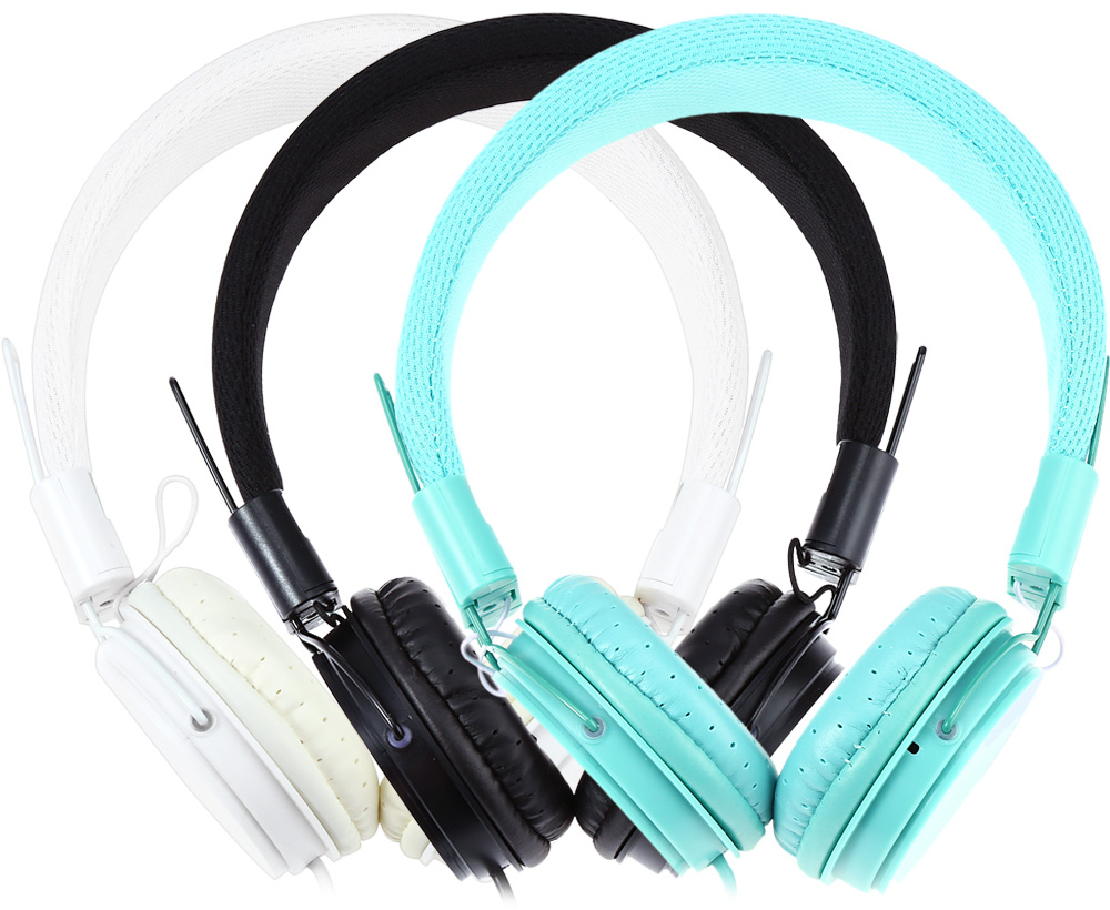 EP05 Retractable Foldable On-ear Stereo Bass Headphone with Mic