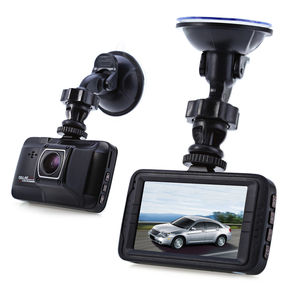 F18 1080P Full HD 170 Degree Wide Angle Car DVR Camera Recorder with 3.0 inch TFT Screen Loop Cycle Recording / Motion Detection / HDMI