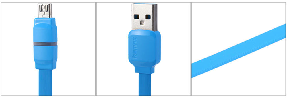 REMAX Micro USB Charge and Data Transfer Cable with Indicator Light 1m