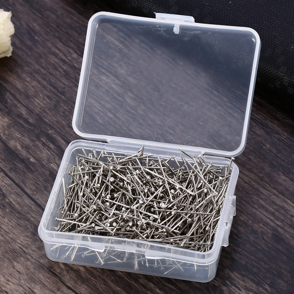 50PCS Deli 24mm Stainless Steel Office Pins Binding Stationery