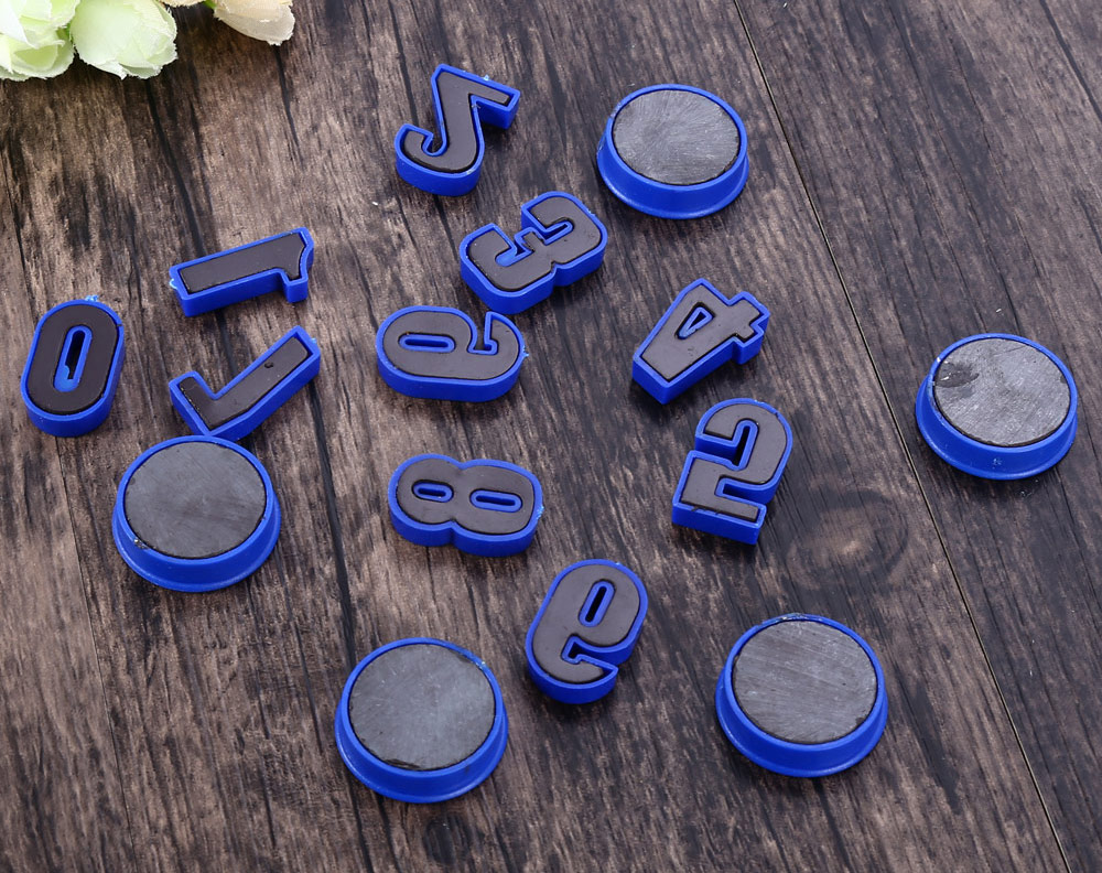 15PCS Funi CT-992 Magnetic Numbers Counters Bean Type