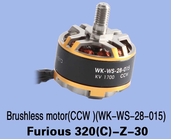 1700KV CCW Brushless Motor Accessory for Walkera Furious 320 320G RC Drone