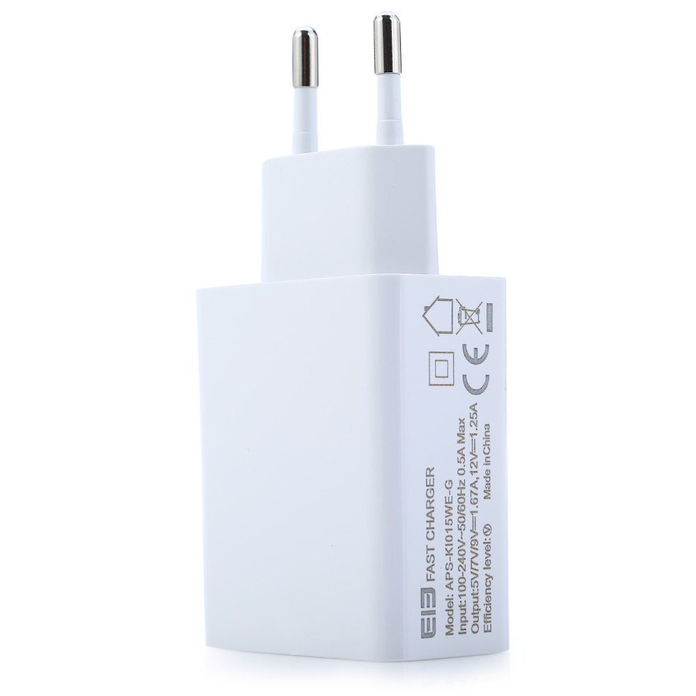 Original Elephone P9000 USB 2.0 Quick Charger Adapter