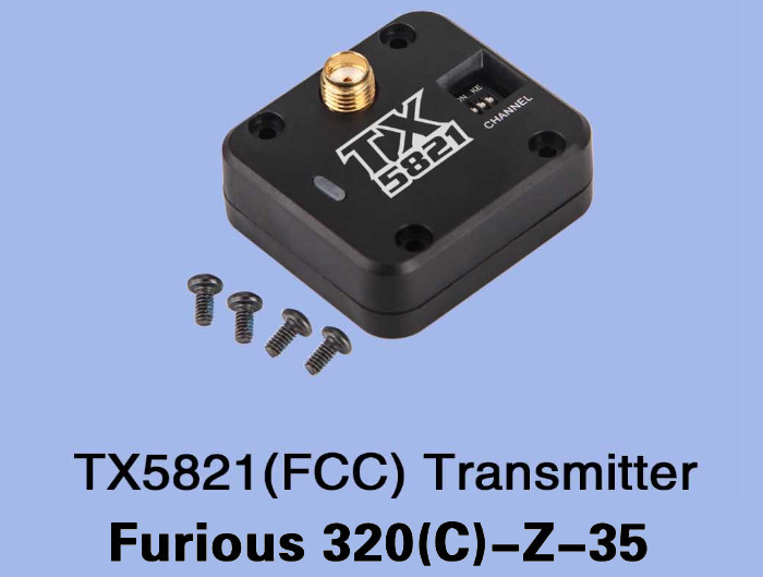 TX5821 Transmitter Accessory for Walkera Furious 320 320G RC Drone
