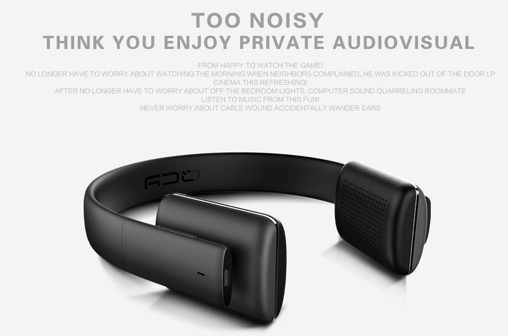 QCY QCY50 Wireless Bluetooth V4.1 Headphones with Mic Volume Control Song Switch