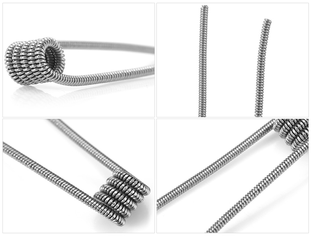 Original Wotofo Clapton Resistance Wire with 25pcs Coil Atomizer Heating Wire for E Cigarette