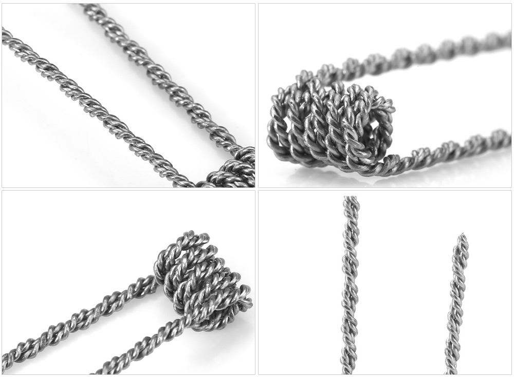Original Wotofo Hive Resistance Wire with 25pcs Coil Atomizer Heating Wire for E Cigarette