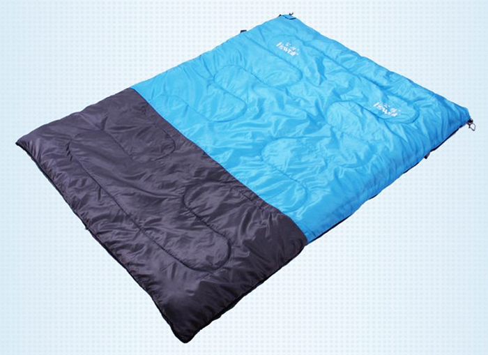 Hewolf 190 X 140cm Double Sleeping Bag Polyester Pongee