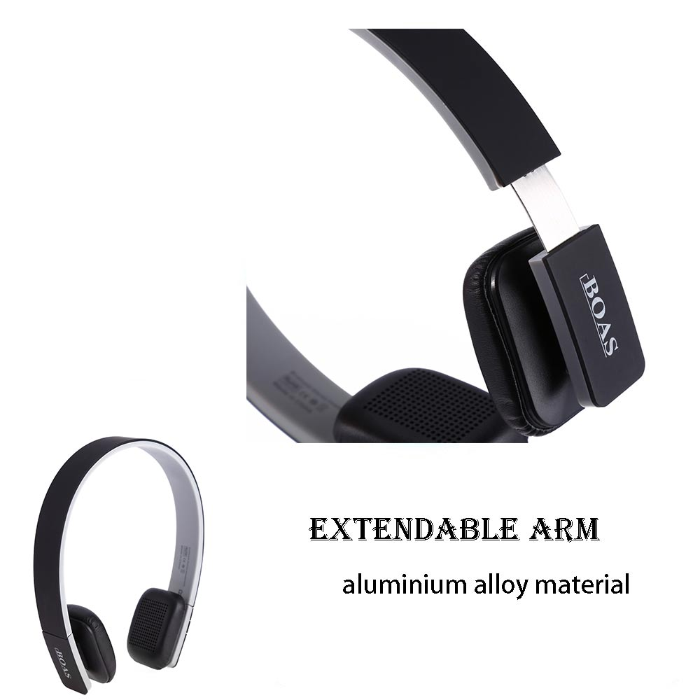 BOAS LC - 8200S Wireless Bluetooth V4.1 Stereo Headphones with MIC