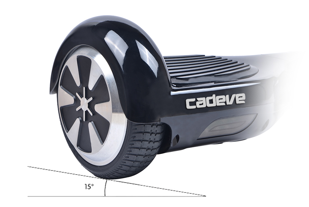 Cadeve 4400mAh Battery Two Wheels Bluetooth Self Balancing Scooter 2 x 350W Motors