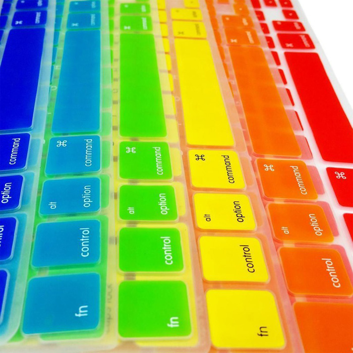 US Version Keyboard Film Cover Protector Skin for 11.6 inch MacBook