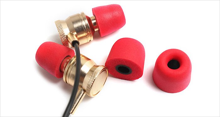 Music Doctor Earbud Tips for In-ear Earphones Comfortable for Wearing Noise Canceling