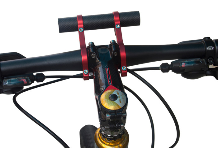 GUB 559 Bicycle Lamp Holder 559 Carbon Made
