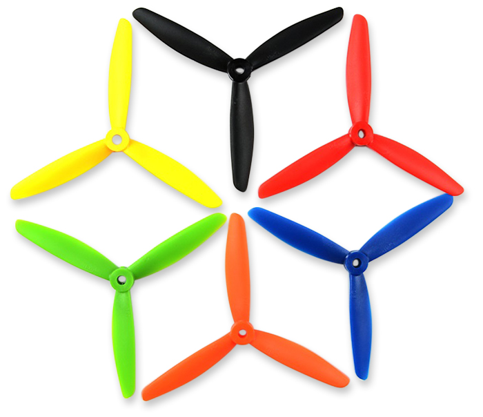 2Pcs T5040 Three-blade Propeller Accessory for 2300KV Motor Quadcopter