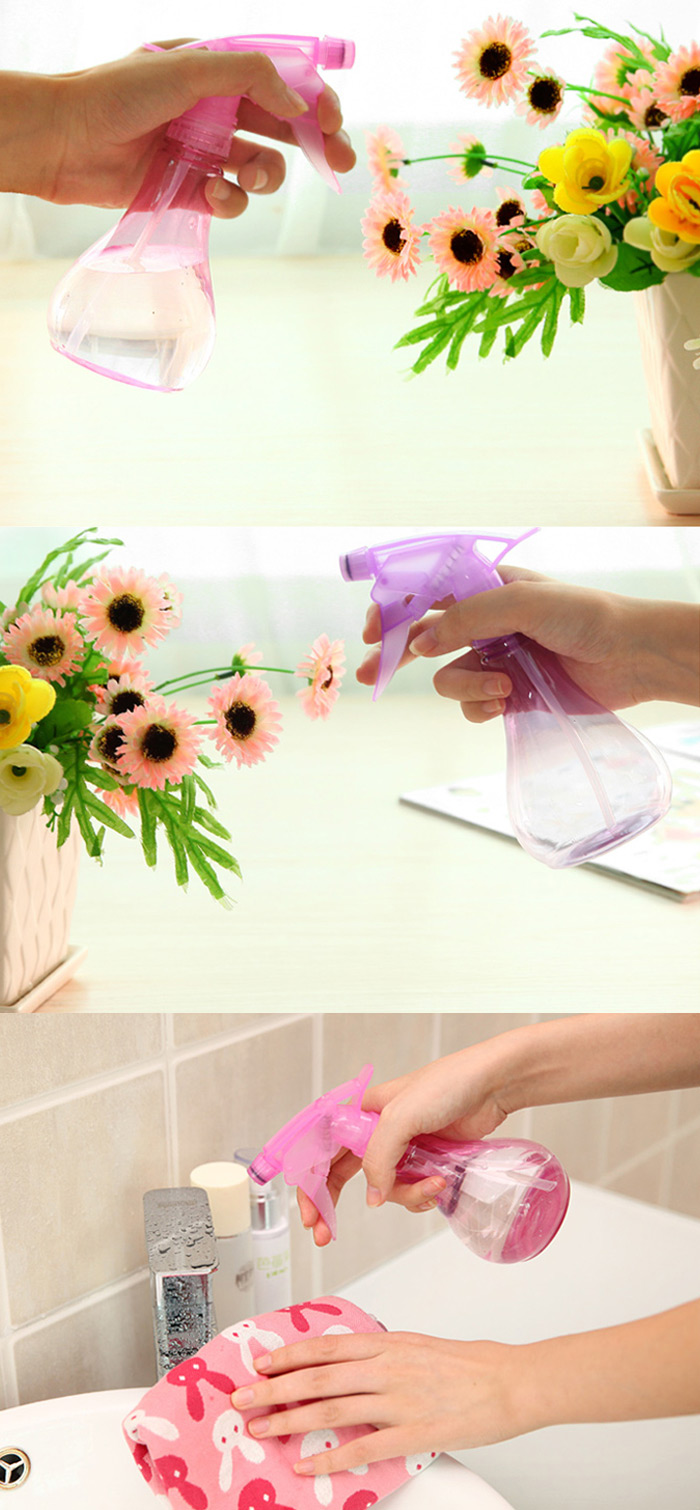 Adjustable Sprayer Flower Watering Can Pot Gardening Atomizer Tool - 255ml