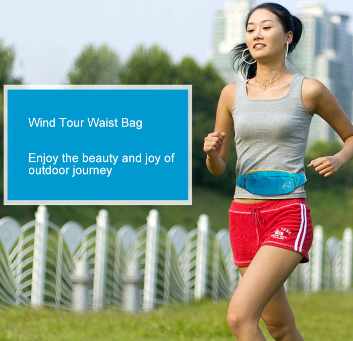 Wind Tour 2L Multifunctional Sports Water Resistant Waist Bag
