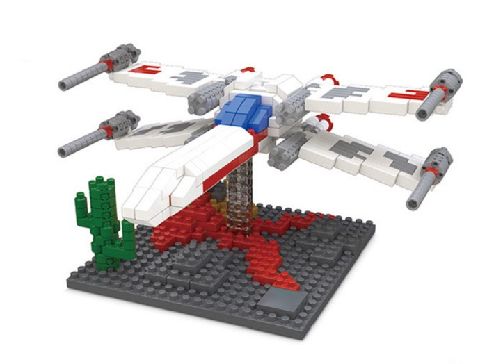 X-wing Building Block Educational Toy Birthday Present
